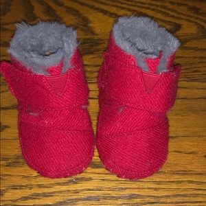 Toms Girl Size 3 Booties